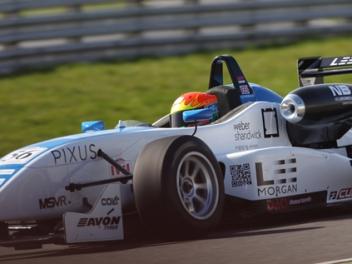 Lee Morgan (GBR) Dallara